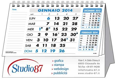 Calendari da tavolo personalizzati - Calendari da tavolo personalizzati ...